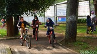 Riuhnya Taman Lalu Lintas Bandung Saat Lebaran Idul Fitri
