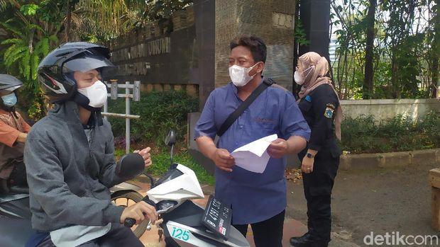 TPU Menteng Pulo (Arun/detikcom)