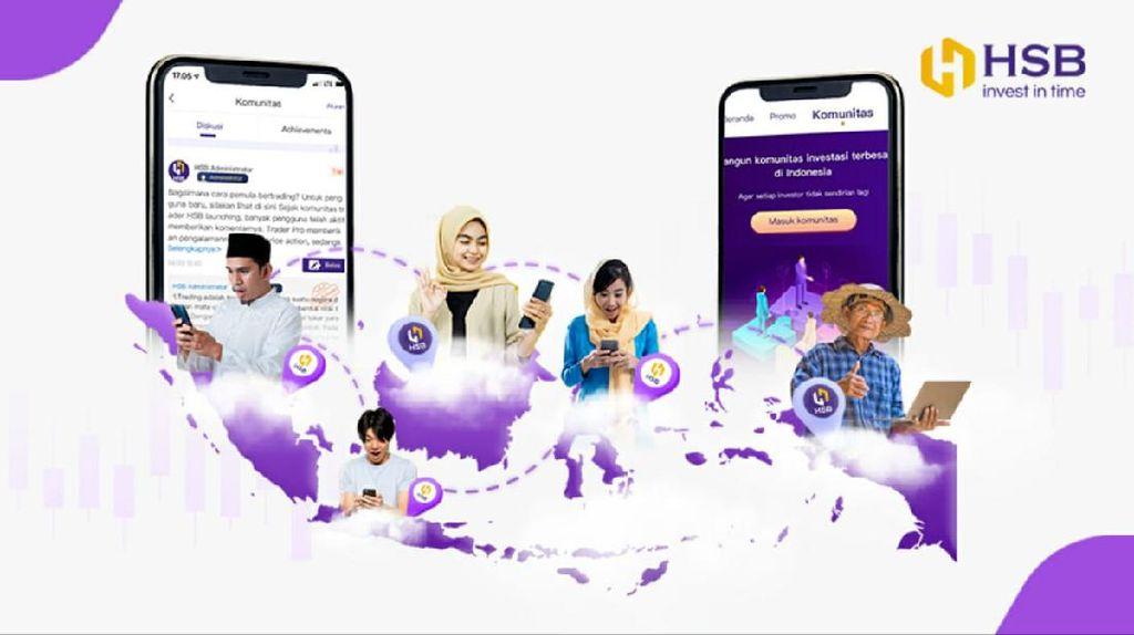 HSB Tawarkan Komunitas Trading Online