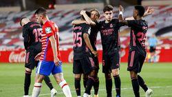 Granada Vs Madrid: Menang 4-1, El Real Terus Pepet Atletico