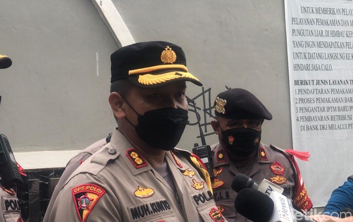 Kabagops Polres Jakarta Barat AKBP Kunto Wibisono (Luqman Nurhadi Arunanta/detikcom)