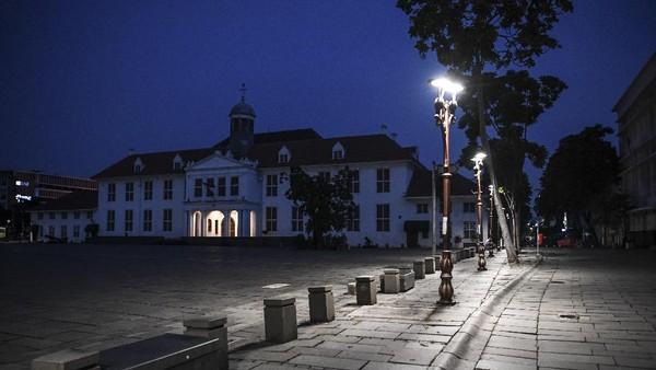 Penutupan kawasan wisata ini dilakukan untuk mengurangi kerumunan selama libur Lebaran 2021.