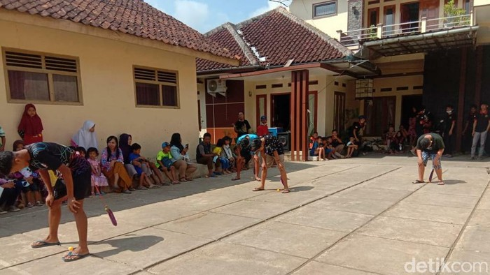 Libur Lebaran ala Anak-anak di Ciamis