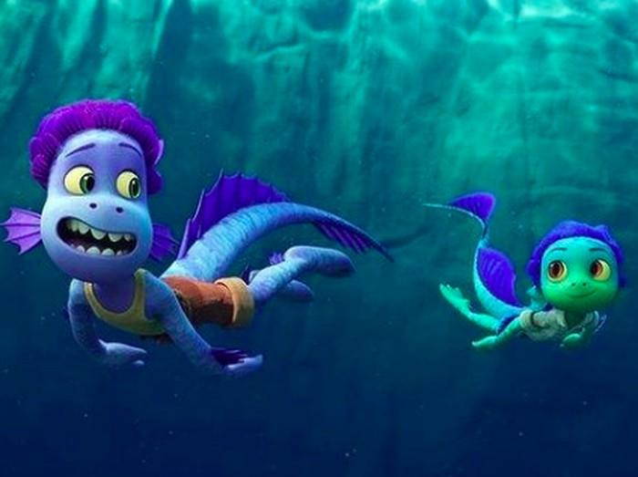 LUCA animasi Pixar