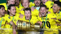 Leipzig Vs Dortmund: Die Borussen Lega Akhirnya Raih Trofi