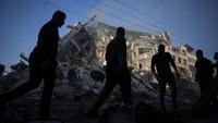 Israel Gempur Gaza, Warga Palestina Tewas Bertambah Jadi 122 Orang