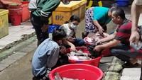 Hiruk Pikuk Tsukiji Indonesia di Malam Lebaran