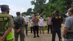 Polisi Perkuat Pengamanan di TPU Tegal Alur, Pedagang Diwanti-wanti!