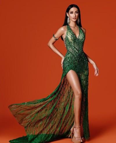 Ayu Maulida di Preliminary Competition Miss Universe 2020