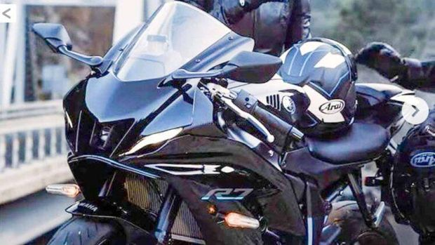 Bocoran foto All New Yamaha YZF-R7