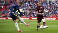 Final Piala FA: Chelsea Vs Leicester City 0-0 di Babak Pertama