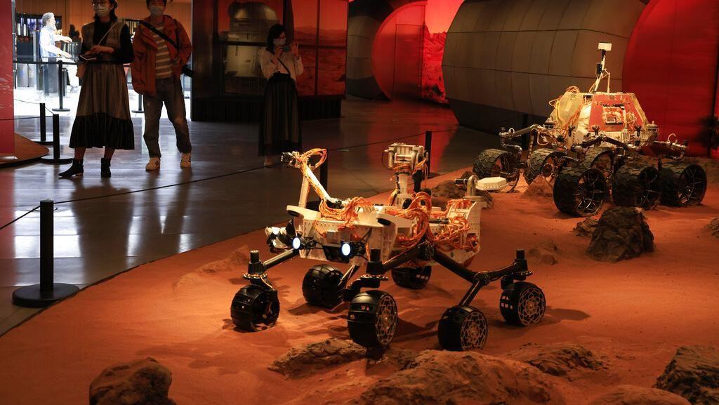 Rover China Sukses Mendarat di Mars, NASA Turut Bangga