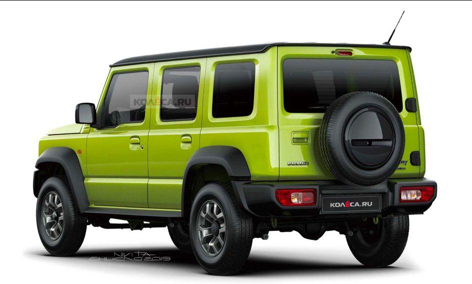 Ilustrasi Suzuki Jimny 5 pintu