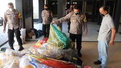 Selama Lebaran 2021, 33 Balon Udara di Ponorogo Diamankan