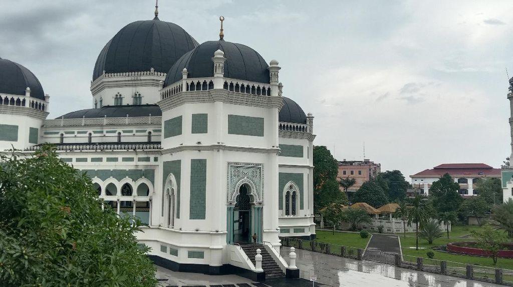 Masjid Raya Medan, Saksi Sejarah Kebesaran Kesultanan Deli