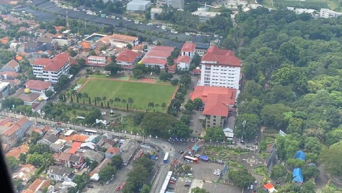 Pantauan Patroli Udara di Ancol dan Ragunan (dokumentasi polisi)