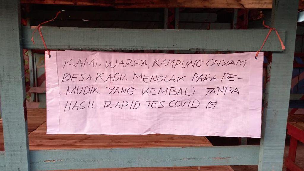 Polisi Imbau Pemudik-Pendatang Swab Test Sebelum Masuk Tangsel