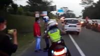 PSSI Ngaku Tak Kenal Pria yang Tidak Terima Diputar Balik di Puncak Bogor