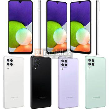 Samsung Galaxy A22 4G dan 5G