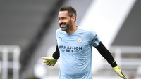 Setelah Sedekade, Kiper Man City Ini Main Lagi di Premier League