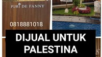 Sebuah Rumah Dijual untuk Rakyat Palestina Viral di Banyuwangi