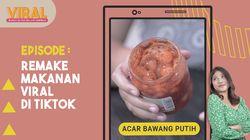 Camilan Viral Tiktok : Acar Bawang Putih dan Ramen Kuah Mayo