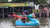 Wisata Air Situ Cipondoh Ramai