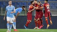 AS Roma Vs Lazio: Giallorossi Menang 2-0 di Derby della Capitale