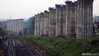 Begini Progres Pembangunan Kereta Cepat di Bandung Barat