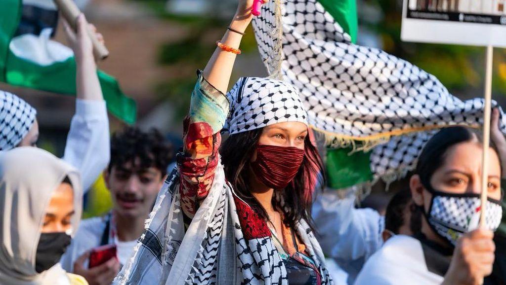 Bela Palestina, Aksi Bella Hadid Dikecam Israel