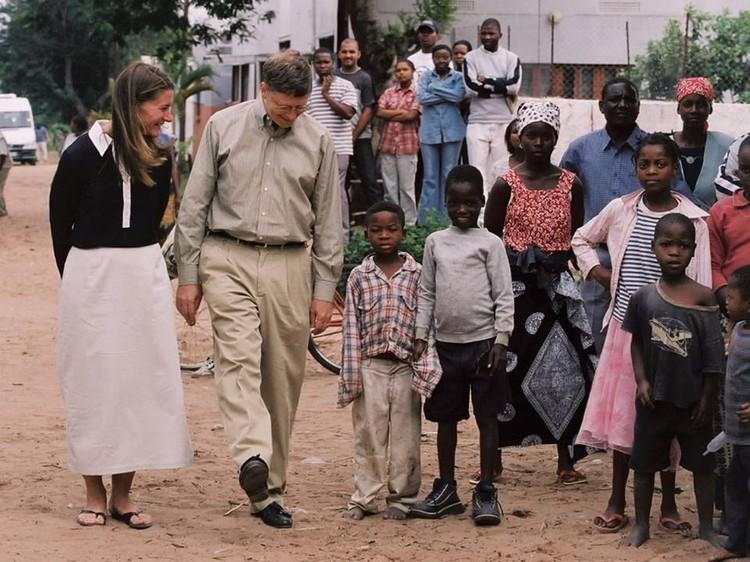 Bill Gates miskin