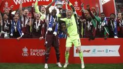 Bendera Palestina Terbentang saat Leicester Juara Piala FA