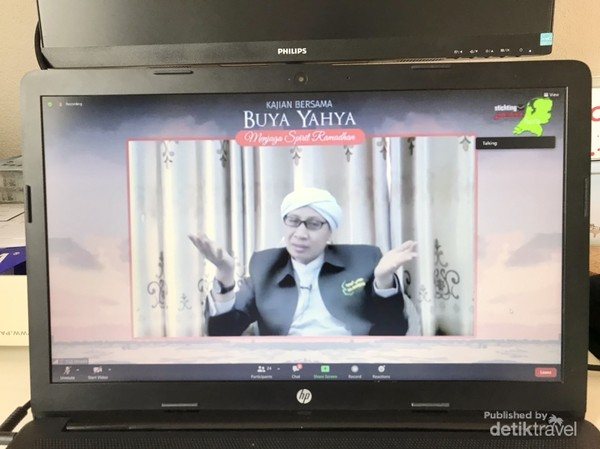 Ceramah Buya Yahya yang menyemangati kami untuk istiqomah