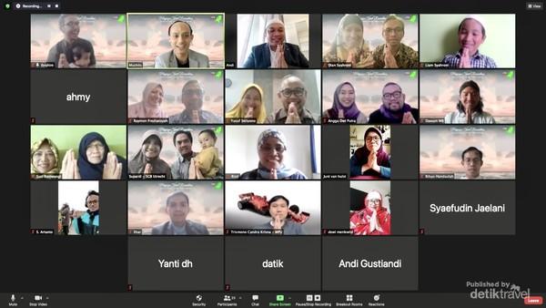 Akhirnya kami bisa bertatap muka meski secara virtual