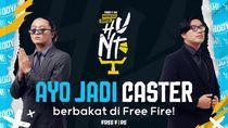 Ikuti Free Fire Caster Hunt, Raih Peluang Jadi Shoutcaster Profesional