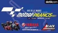 Infografis MotoGP 2021: Gas di Le Mans!