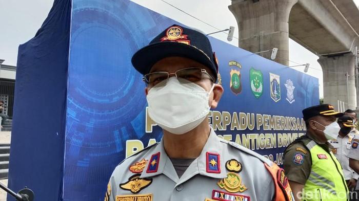 Kadishub DKI Jakarta, Syafrin Liputo (Sahcril/detikcom)