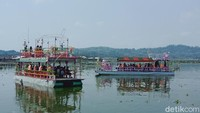 Efek Waduk Kedungombo, Kapal Wisata Rowo Jombor Klaten Dicek