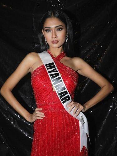 Miss Universe Myanmar Thuzar Wint Lwin.