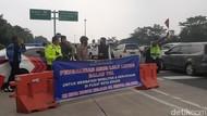 Lalin Kota Bogor Padat, Petugas Kembali Tutup GT Branangsiang
