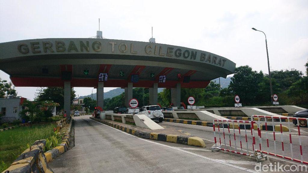 Gerbang Tol Cilegon Barat Kembali Dibuka, GT Cilegon Timur Masih Ditutup