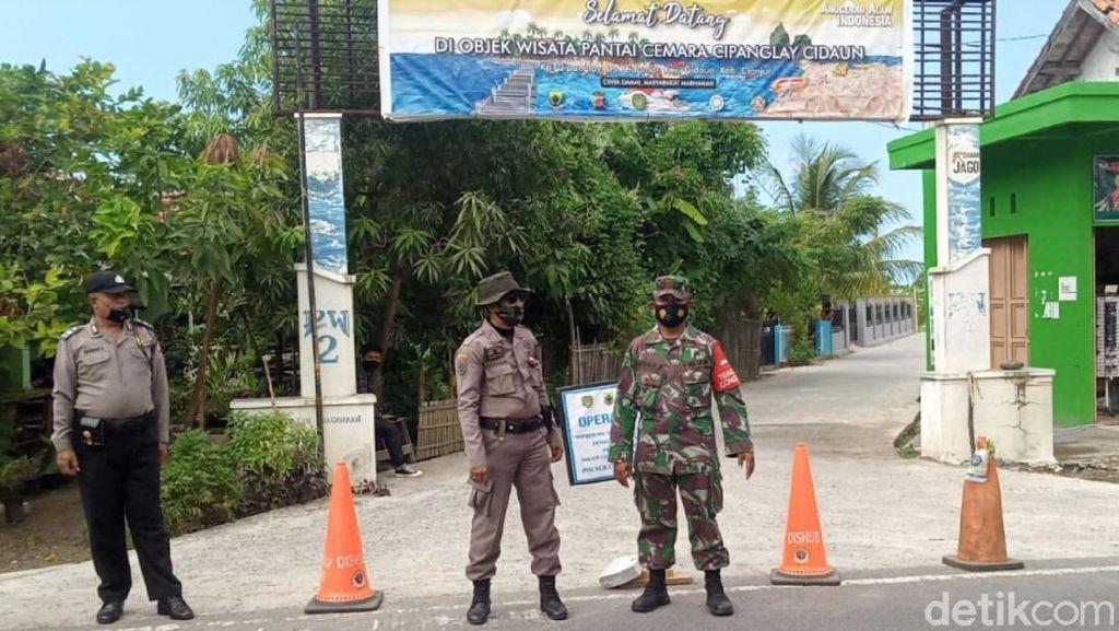 Wisatawan Membludak, Pantai Jayanti dan Cemara Cianjur Ditutup