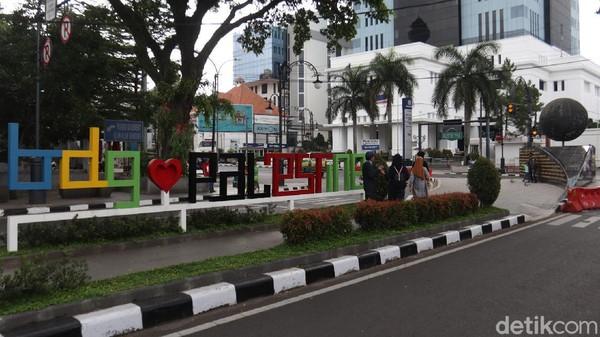 Palestine Walk, menjadi salah satu bukti dukungan Kota Bandung untuk Palestina.