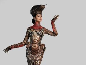 Penampilan Ayu Maulida Tuai Pujian Miss Universe 2015 Pia Alonso