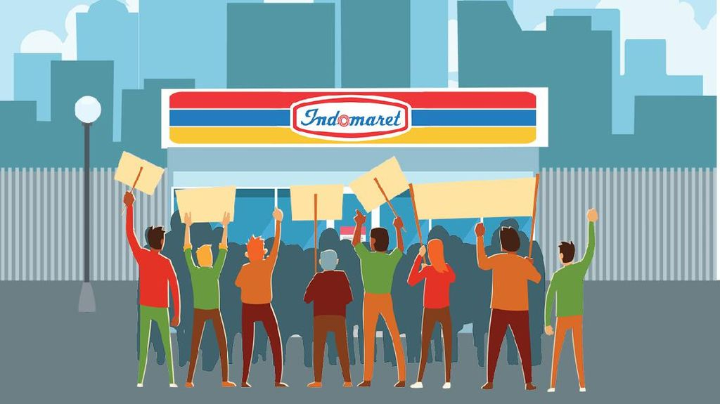 Buruh Pastikan Boikot Indomaret Mulai Besok!
