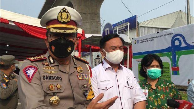 Dirlantas Polda Metro Jaya Kombes Sambodo Purnomo Yugo