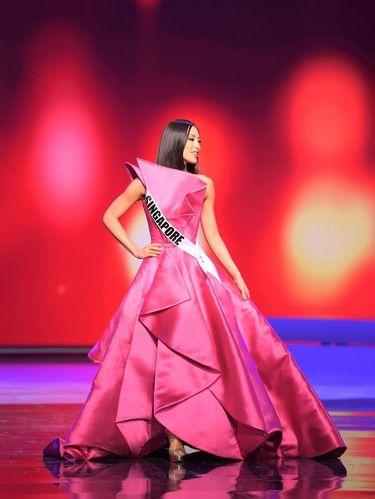 Miss Universe Singapore Bernadette Belle Ong.