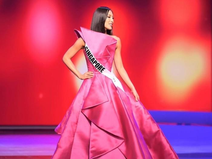 Miss Universe Singapura 2020 Bernadette Belle Ong