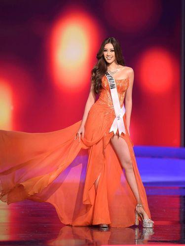 Miss Universe Vietnam Nguyen Tran Khanh Van.