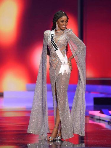 Miss Universe Cameroon Kossinda Angele.